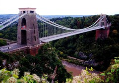 'Gorge'ous View! (Trapac) Tags: autumn england green tower river bristol geotagged pier suspension bridges gorge a4 cliftonsuspensionbridge span brunel riveravon isambardkingdombrunel leighwoods ikb avongorge geo:lat=5145634 geo:lon=2626277