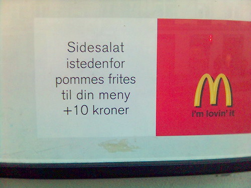 McDonald's advertisement