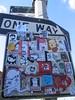 it's a stick up (Luna Park) Tags: nyc streetart celso internationalsmuggler plasmaslugs stickers burns lunapark cdamage wreck viking ikari robotswillkill enikone mattsiren 9111
