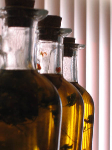 bouteille d'huile