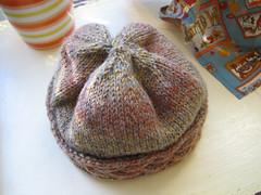 coronet hat (nomi maybe) Tags: knit knitting hat knitty coronet plymouth