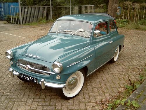 1960 Skoda Octavia.