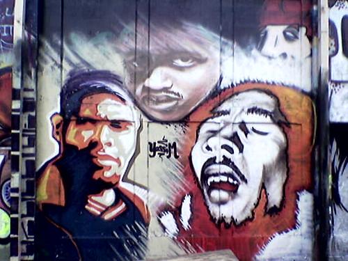 graffiti art de. Graffiti art, street art and