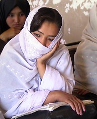 deep thoughts (janchan) Tags: school portrait people woman afghanistan students girl eyes women asia veil classroom retrato documentary donne escuela unposed mujeres ritratto reportage scuola theface chador ghazni thetaleofaurezu whitetaraproductions