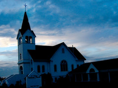 Church (Living Juicy) Tags: light sky church altered dark washington personalfav livingjuicy saywa lj2005