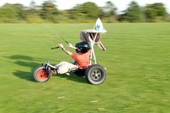 Extreme Ironing Kite Buggy Style