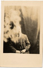 Spiritualism (*Tom*) Tags: 1920s head spirit ghost ectoplasm spiritualism appiration williamhope