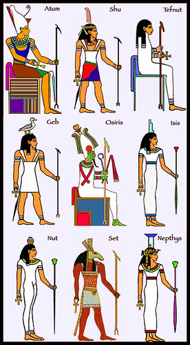ennead ⓽ of ra / egyptian translation | Flickr - Photo Sharing!