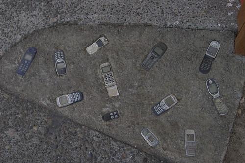 Cell Phone Sidewalk