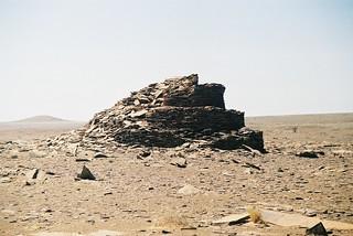 Stepped Bazina, Wadi Dirt
