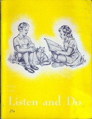 Listen and Do (starlen) Tags: listenanddo christian coloringbook 1954 vintage