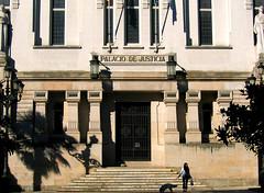 Palacio de Justicia (patrick wilken) Tags: espaa dog topv111 justice spain corua galicia galiza law legal coruna ecvp lacorua ecvp2005 scoreme scoreme34