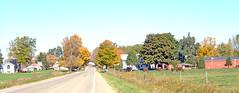 Population 53 (joeldinda) Tags: autumn red horses orange green fall colors catchycolors town village michigan farm f10 chester joeldinda