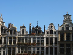 Buildings on the Grand Place, Brussels