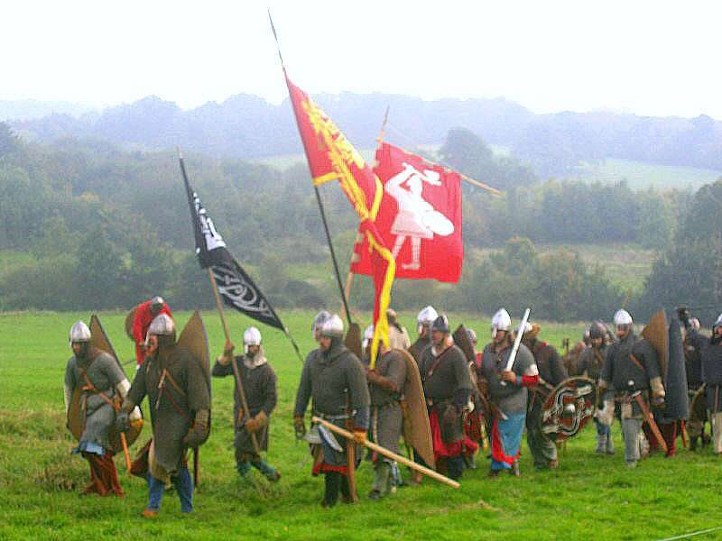 Battle of Hastings 1066. Battle, UK. October 2005