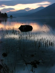 Sunset on Loch Eil.. (dmcneil) Tags: scotland sunset locheil