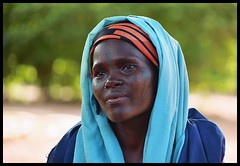Mariam (janchan) Tags: africa blue portrait people woman colors face women veil retrato documentary tribal marks nigeria donne colori mujeres ritratto ngo reportage fulani theface hausa carrymehome artlibre whitetaraproductions sfidephotoamatoriwinner obstetricfistula