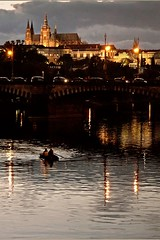 Romantic Prague (cuellar) Tags: 15fav topc25 topv111 1025fav 510fav river wonder geotagged nightshot czech prague nikond70 praha praga 100v10f cuellar geo:lat=50080394 geo:lon=14413365