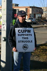 more support for the postal workers