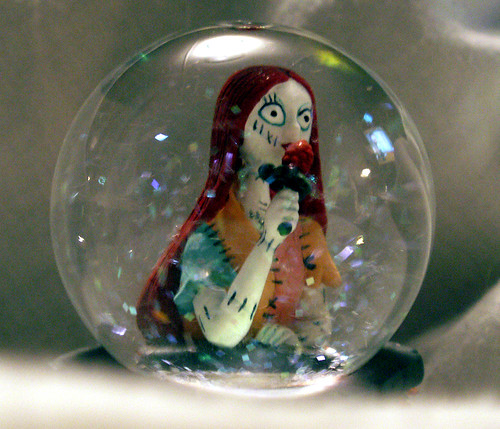 Nightmare Before Christmas Bubble