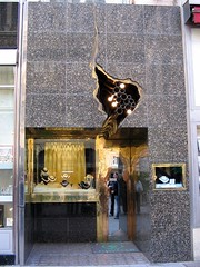 Schullin Jewelery store is one of the many luxury stores along Graben
