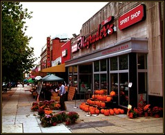 Magruder's (katmeresin) Tags: wallpaper fall wow dc pumpkins creativecommons dcist 300views 200views avalon chevychase connecticutave mereand magruders dcneighborhoods usedondcist katmere