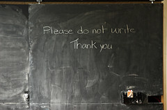 Please do not write (L_) Tags: topf25 writing thankyou please almostbw censorship pi blogged blackboard perimeterinstitute selfcensorship explored