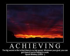 Achieving