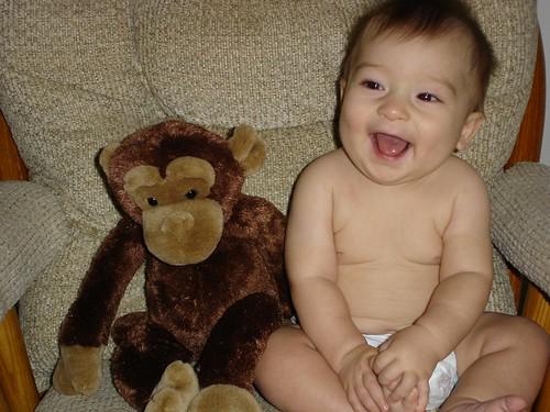 Mason at 7 months 4 (10/21/05)