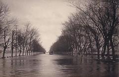 Winter flood Eastern Front WWI (Jens-Olaf) Tags: germany russia wwi great latvia war2 ost lettland weltkrieg ober latvija jelgava  1weltkrieg ostfront