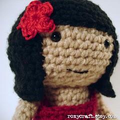 latina ramona (Roxycraft) Tags: amigurumi softies plush mos crochet handmade