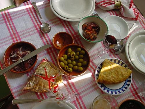 Spain: Spanish tapas. Tapas espa�olas.