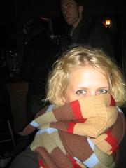 longest scarf EVER (J Dunlap) Tags: daylightsavingspartyhour halloween05 jendunlap bigscarf