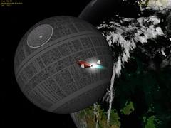 Death Star Visits Green Mars