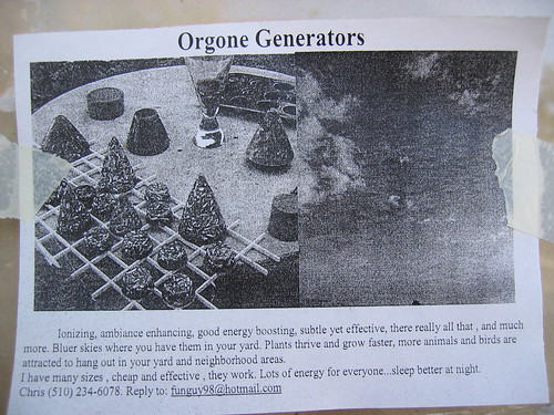 orgone device advertisement