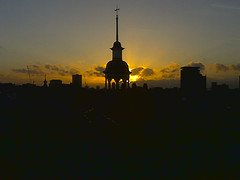 Sunset at office (Christian) Tags: