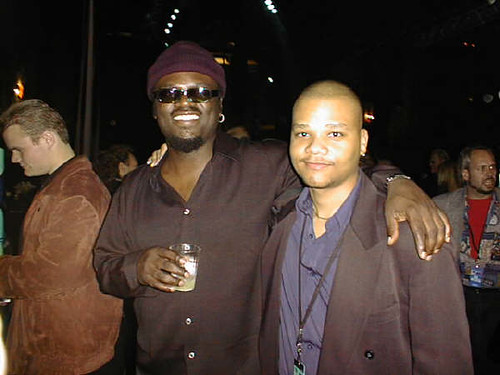 Myself and Tommy Sims