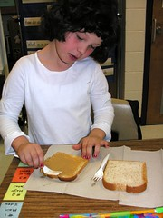 Making the Peanut Butter and Jelly Sandwich