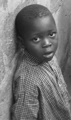 Little boy in Ouidah