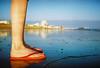 fox's feet (lomokev) Tags: feet beach sand brighton dof legs depthoffield fox agfaultra contaxt2 top20feet пляж deletetag filmformat publishedinjpg rota:type=showall rota:type=portraits file:name=contaxt20805c17ps
