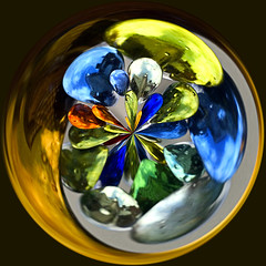 Exploding Marbles (Andrew Morrell Photography) Tags: amazingcircle marbles surreal round colorful color colour 15fav wow topv111 100v10f 510fav 1025fav mytop20mostviewed