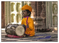 The Little Drummer (lapidim) Tags: boy people music india shoes searchthebest gente drum song topv222 drummer rajasthan jodhpur givingcompetition gtaggroup goddaym1 fivestarsgallery fsgchildhood