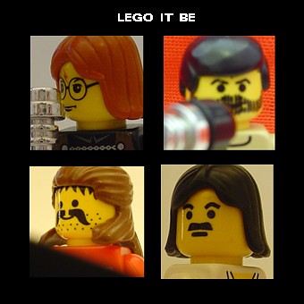 minifig album covers # 1: lego it be