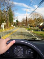 Law-Abiding Citizen (eastofnorth) Tags: car digital canon honda findleastinteresting object nj commute civic eastofnorth sd20 canonsd20 whiledriving