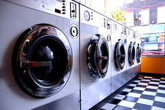 Ready to Wash (moonux) Tags: laundromat washingmachine london circles