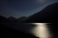 . Lake District III - Part (iv) . (3amfromkyoto) Tags: park uk longexposure winter england lake cold reflection water 30 night wow early long exposure head district great lakedistrict deep surface h national cumbria moonlight superfantastique gable seconds 30s wast wasdale deepest 3amfromkyoto flickr:user=3amfromkyoto