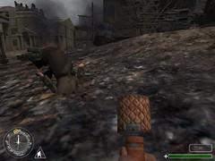 death 1 (seizethedave) Tags: callofduty game fps firstpersonshooter shooter death dead corpse cadaver deadguy screengrab screenshot grenade