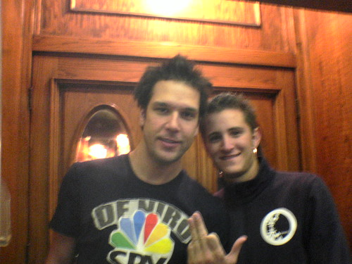 Me and Dane Cook
