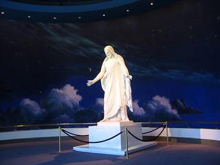 Jesus Christ - speaking in Mormon Temple, Salt Lake City
