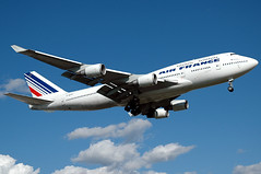 Air France 747-400 F-GITF